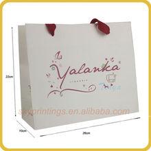 Popular paper shopping bags free shipping
