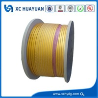 0.4mm insulation thickness fiberglass covered copper electric wire
