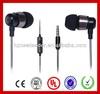 Deep bass earphone, metal earphone, earphone with mic