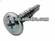 Wafer head self drilling screw SUS410