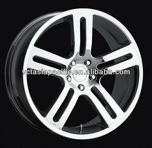 Aluminum Alloy Chrome Tuner Mag wheel 17 18 20 inch V10 silver