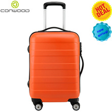 PC018 100% PC bright color Trolley Luggage