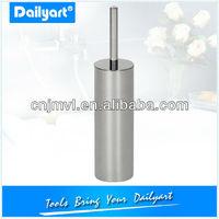 Round Toilet stainless steel toilet brush holder set
