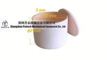 high quality high temperature resistant alumina oxide casting crucible