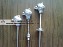 standard r type thermocouple with flange