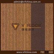 bitumen backing carpet tile for office/home