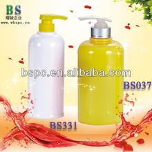 plastic shampoo bottle packaging