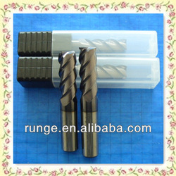 high quality germany carbide CNC end mill for hardened steel