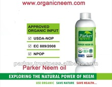Neem Oil for Cosmetics - Organic Cold Pressed Neem Oil