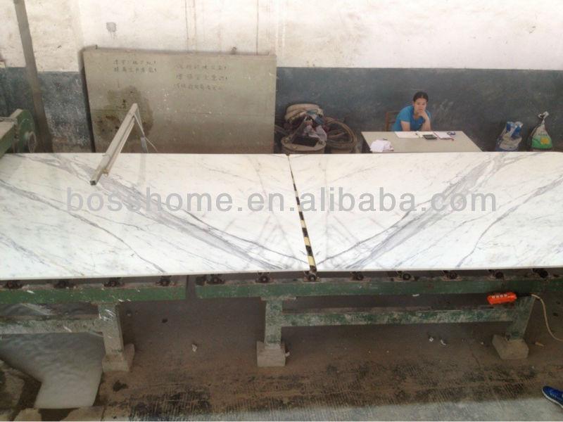 First grade statuario white marble price of italian