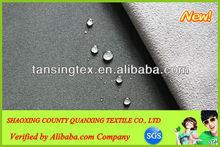 94% polyester 6% spandex stretch fabric bonded TPU and polar fleece fabric