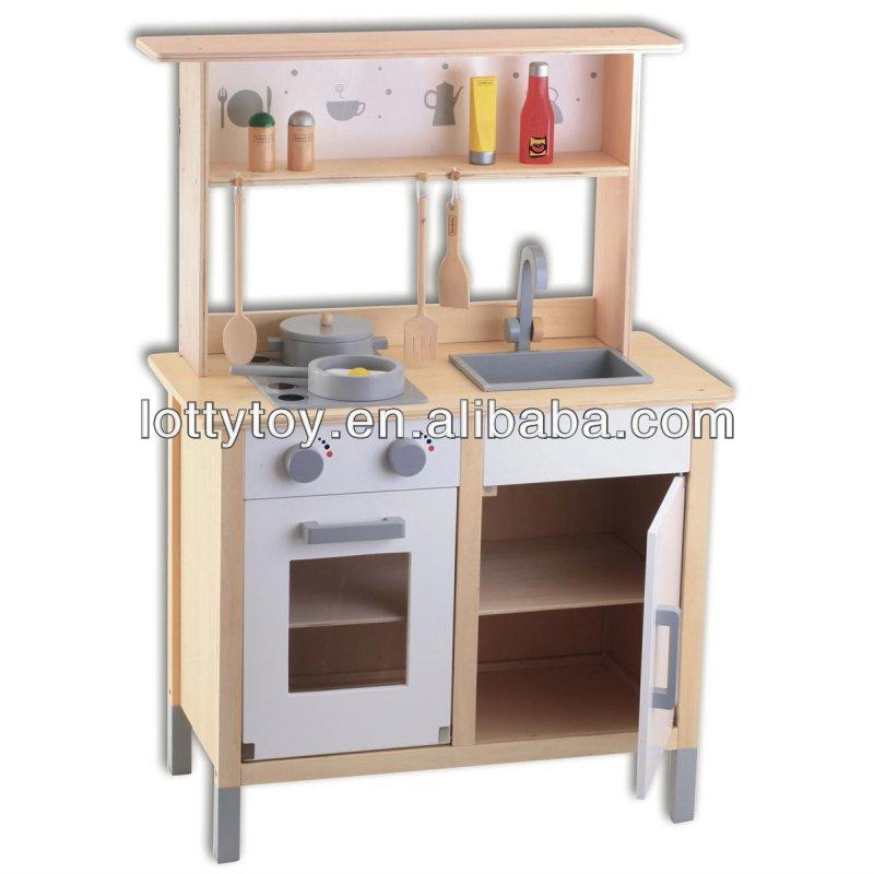 Wooden luxurious mini kitchen set toy View mini kitchen