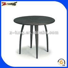 graceful aluminum rattan uv resistance bar table ZT-1006T