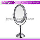 17CM 1X/2X Double Vision makeup station with lights and mirror
