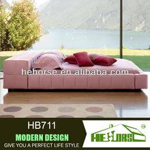 HB711# double bed design furniture pakistan
