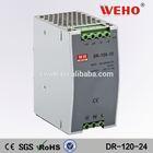 Din rail power supply DR-120-12 110v ac 24v dc transformer