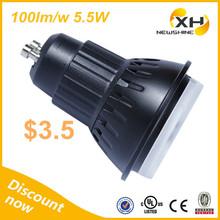 Narrow Beam Angle UL SAA list 100lm/w 5.5w gu10 LED Spotlight, Cob Led Gu10 Dimmable