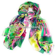 2014 fashionable silk scarf