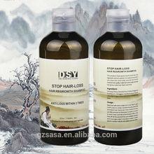 300ml DSY hair loss treatment natural herbal hair growth shampoo brands