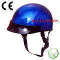 Mitad shell dot casco, carbono casco de la motocicleta, SNELL casco abierto