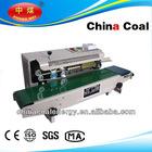 Vertical / Horizontal Continuous heating plastic/Aluminum foil band /bag sealing machine,continuous band sealer with printer ,