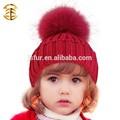 ปีใหม่ผลิตภัณฑ์ผ้าขนสัตว์แฟนซีเด็กหมวกถักผ้าพันคอชุดถักหมวกถักทารก
