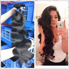 Unprocessed good quality virgin body wave 100% human hair