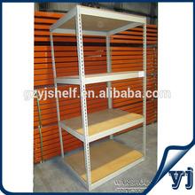 Adjustable Lowest Price Slotted Angle Rack/Metal Storage Rack Metal /Shelf Unit, Iron Storage Rack Angle Iron Rack