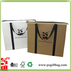 2015 hot sale ziplock stand up raw material of kraft paper bag with gold price