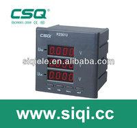 three digit volt digital panel meters