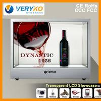 """22"""" transparent LCD transparent el displays"""
