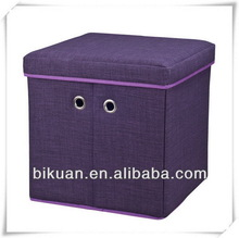 Low price new style microfiber ottoman