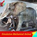 bien animatronic personalizado de los animales elefante