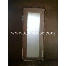 aluminium glazed door interior frosted glass bathroom door shower door design