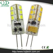 High quality 2w rohs silicon 2835 ac/dc mini smd 12v led g4