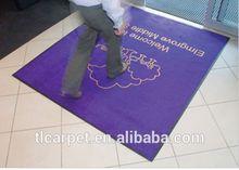 Flocked Olefin Floor Mat, Door Mat, Printed Carpet 003