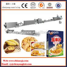 Automatic corn flakes making machinery corn puff making machinery