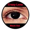 Preto inteiro fora louco cor atacado lentes de contato, Esclera lentes de contato vampiro louco contatos vários projetos disponíveis
