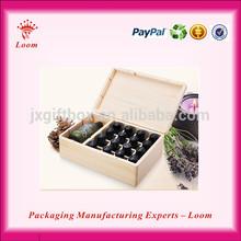 Professional wooden essential oil storage box