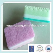 latest products in market colorful dishwashing sponge