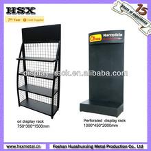 black metal display stand/display rack/display shelf