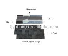 Grey Laminated Bitumen Roof Shingles