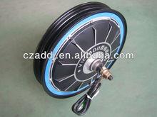 "CE-approved 48v1000w 16"" brushless electric wheel hub motor"