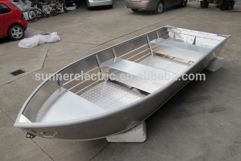 Detail Wooden Boat Plans: Welded Aluminum Fishing Boat