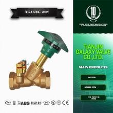 fixed orifice double regulating balance valve