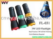 3 watt LED Flashlight NEW