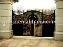 2013 Luxury gate grill design of wrought iron