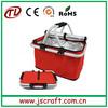 Reusable outdoor foldable cooler bag,folding cooler bag,folding cooler basket