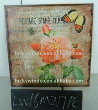 LW16M217 vintage tin sign decor