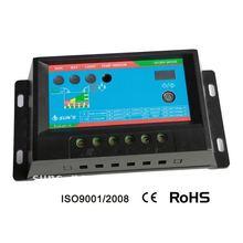 PWM 12/24V Solar Charge Controller / Solar Regulator / Solar Controller 10A With Timer And Light Control Function
